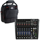 Alto ZMX122FX 8-Channel Compact Mixer w/ Gator Bag