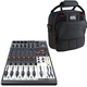 Behringer Xenyx 1204USB 8-Channel Mixer with Gator Bag