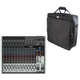 Behringer Xenyx X2222USB 22-Channel Mixer w/ Gator Bag