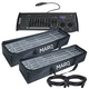MARQ Rezo Tube Pack LED FX Tube 2-Pack with DMX Controller