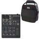 Mackie 402VLZ4 4-Channel Mixer with Gator Bag
