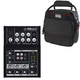 Mackie Mix5 5-Channel Compact Mixer w/ Gator Bag