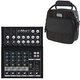 Mackie Mix8 8-Channel Compact Mixer w/ Gator Bag