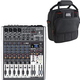 Behringer Xenyx X1204USB 8-Channel Mixer w/ Gator Bag