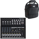 Mackie MIX12FX 12-Channel Compact PA Mixer w/ Gator Bag