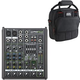 Mackie ProFX4v2 4-Channel Analog Mixer w/ Gator Bag