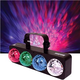 Solena Quad Wave 4x3-Watt LED Water FX Light