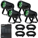 ADJ American DJ PAR Z4 LED Par 4-Pack with DMX Controller & Cables
