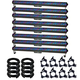 Chauvet COLORrail IRC LED Bar Light 8-Pack w/ Clamps & DMX Cables