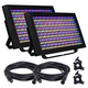 ADJ American DJ Profile Panel RGBA LED Wash 2-Pack w/ Accessories