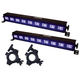 Solena Max Bar Mini UV LED Light Bar 2-Pack with Accessories