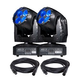 Eliminator Stealth Craze LED Moving Head Light 2-Pack with Cables
