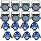 Chauvet SlimPAR 56 IRC IP LED Wash 8-Pack with IP Rated Cables