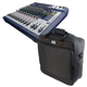 Soundcraft Signature 12 12-Channel Mixer w/ Gator Bag