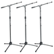 Gator GFW-MIC-2020 Frameworks Premium Mic Stand with Clutch 3-Pack
