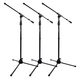 Gator GFW-MIC-2010 Frameworks Mic Stand with Clutch 3-Pack