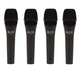 Alto ADM7 Dynamic Handheld Microphone 4-Pack
