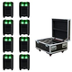 ADJ American DJ Element HEX IP LED Light 8-Pack System with Case