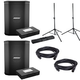 Bose S1 Pro Multi-Position PA System Pair w/ Battery Packs & Stands