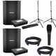 Bose S1 Pro PA System Pair & Batteries w/ Stands & Mic