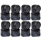 ColorKey Mover MiniWash QUAD-W 7 Moving Head Light 8-Pack