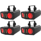 Chauvet Duo Moon Plug-and-Play LED Light 4-Pack