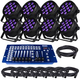 Blizzard LB Par Hex 8-Pack Lighting System