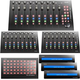 Icon Platform M+ Desktop DAW Control Surface w/ 2 Extenders, Button Extender & 3 Displays