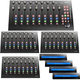 Icon Platform M+ Desktop DAW with 3 Control Surface Extenders & 4 Displays