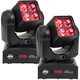 ADJ American DJ Inno Pocket Z4 4x10w RGBW Moving Head Light 2-Pack
