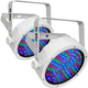 Chauvet SlimPAR 56 WHT RGB LED Wash Light 2-Pack