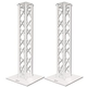 Global Truss White Lighting Truss 9.84 Ft F34 Dual Totem System
