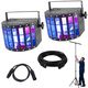 Chauvet Kinta FX LED Light 2-Pack w/ Stand & Cables