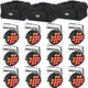 Chauvet SlimPAR Q12 BT LED Par Wash Light 12-Pack w/ Gator Bags