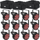 Chauvet SlimPAR T12 BT LED Par Wash Light 12-Pack w/ Gator Bags