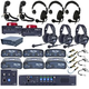 Clear-Com Intercom System Advanced Encore Wired System w/ 6 Headsets