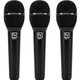 Electro-Voice ND76 Cardioid Dynamic Vocal Mic 3-Pack