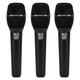 Electro-Voice ND86 Supercardioid Dynamic Vocal Mic 3-Pack