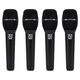 Electro-Voice ND86 Supercardioid Dynamic Vocal Mic 4-Pack
