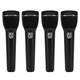 Electro-Voice ND96 Supercardioid Dynamic Vocal Mic 4-Pack