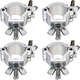 Global Truss Light Duty Jr Clamp 4-Pack for F23 Truss