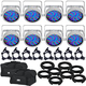 Chauvet SlimPAR 56 WHT Wash Light 8-Pack w/ Accesories & Gator Bags