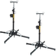 Global Truss ST-157 Crank Stand 2-Pack with Adapters *