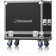 Turbosound TBV123 (2) Speaker Road Case with Wheels