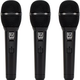 Electro-Voice ND76 Dynamic Vocal Mic w/ Switch 3-Pack