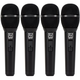 Electro-Voice ND76 Dynamic Vocal Mic w/ Switch 4-Pack
