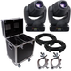 Chauvet Intimidator Spot 375Z IRC 2-Pack w/ Road Case