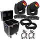 Chauvet Intimidator Spot 355 IRC Moving Head 2-Pack w/ Road Case