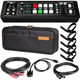 Roland V-1HD 4-Channel Digital Video Mixer & Bag w/ Cables & Ties