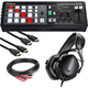 Roland XS-1HD A/V Matrix Switcher w/ V-Moda Headphones & Cables
